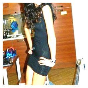 Benetton black Bodycon clubbing dress
